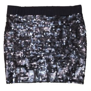 JUST IN! ELIZABETH And JAMES Sequin Mini Skirt